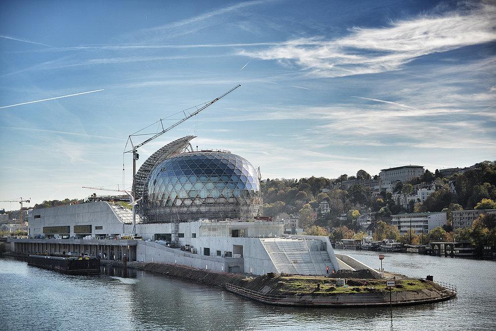La Seine musicale sur l'île Seguin à Boulogne / DR