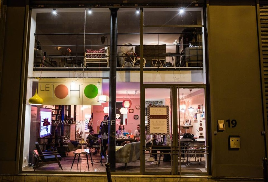 Le 10h10, espace de coworking à Paris (2e) / © Le 10h10