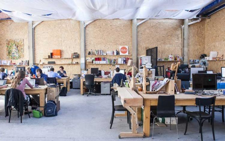 Ici Montreuil, Fab Lab et espace de coworking à Montreuil (93) / © Ici Montreuil