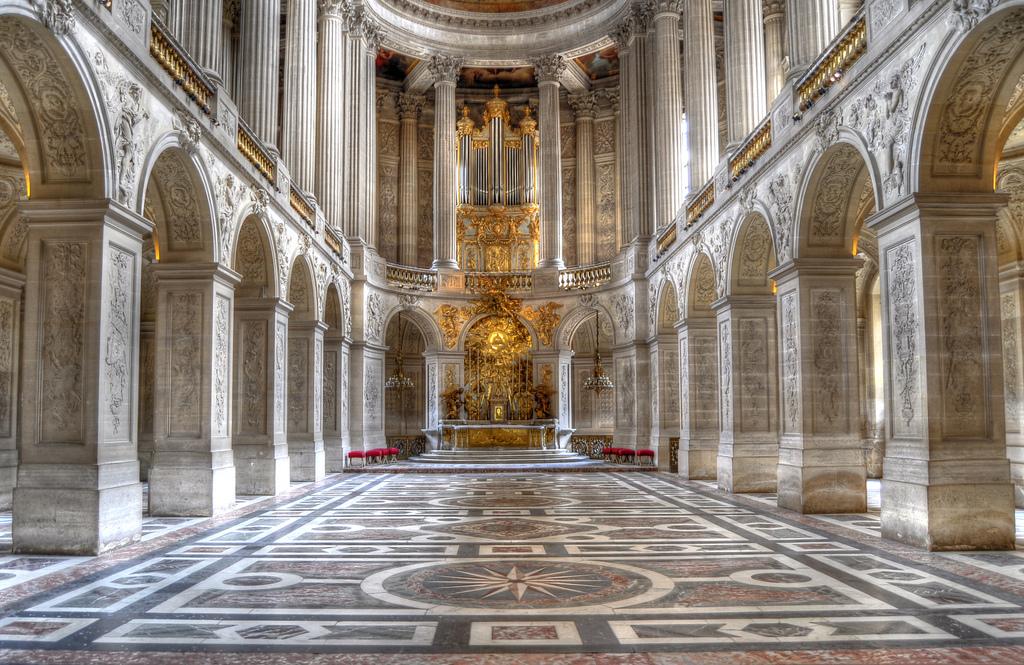 La chapelle royale du château de Versailles / DR