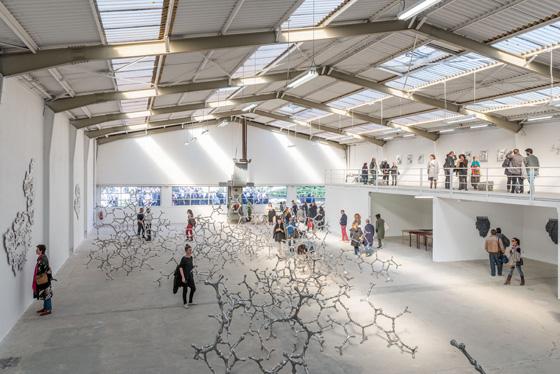 Expo Sphères 9 à la Galleria Continua-Les Moulins à Boissy-le-Châtel / © Galleria Continua