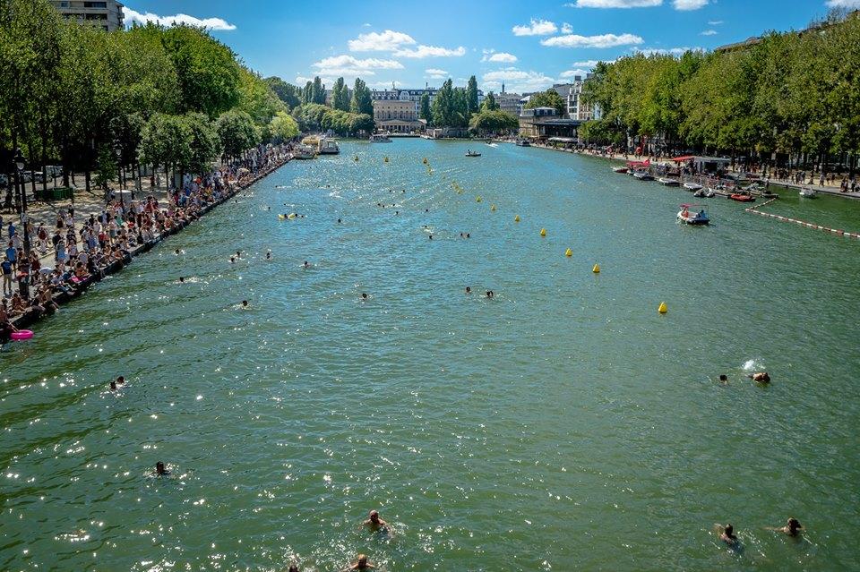 Le bassin de la Villette à Paris / © Nicolas Rochette