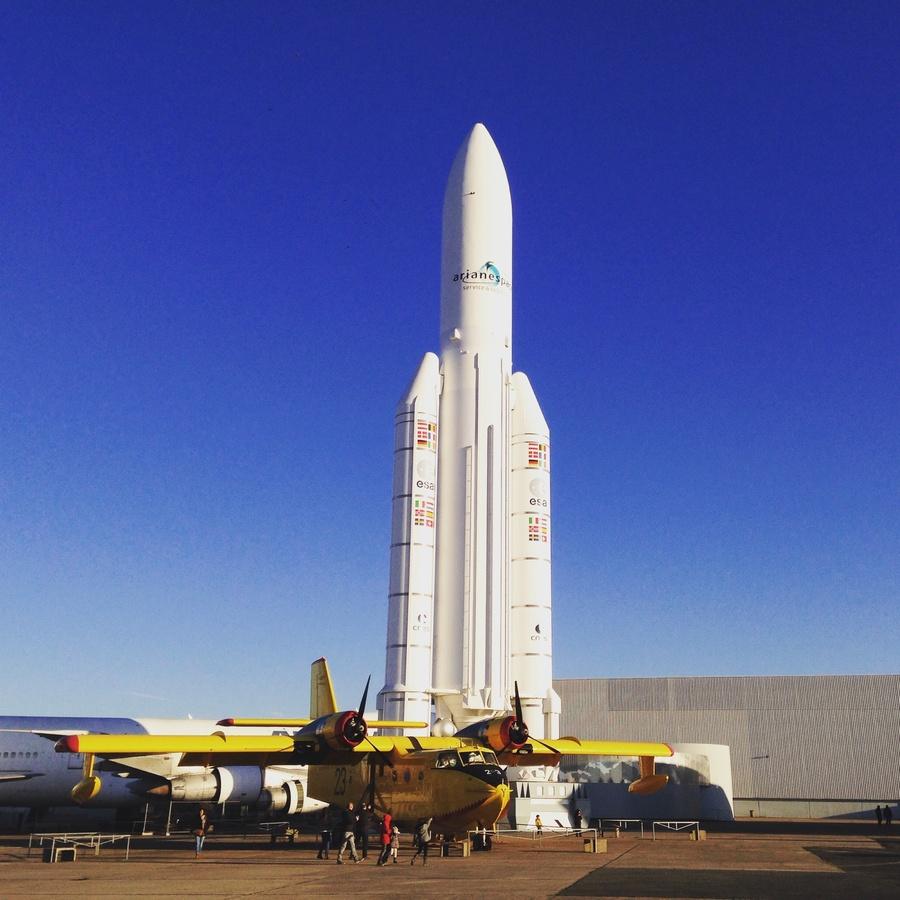Musée de l'Air et de l'Espace à l'aéroport du Bourget (93) / © Steve Stillman