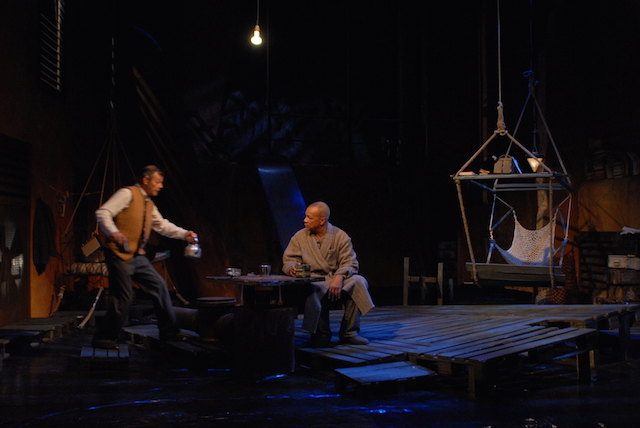 Spectacle «Les émigrés» au Studio Théâtre de Stains / © Studio Théâtre de Stains