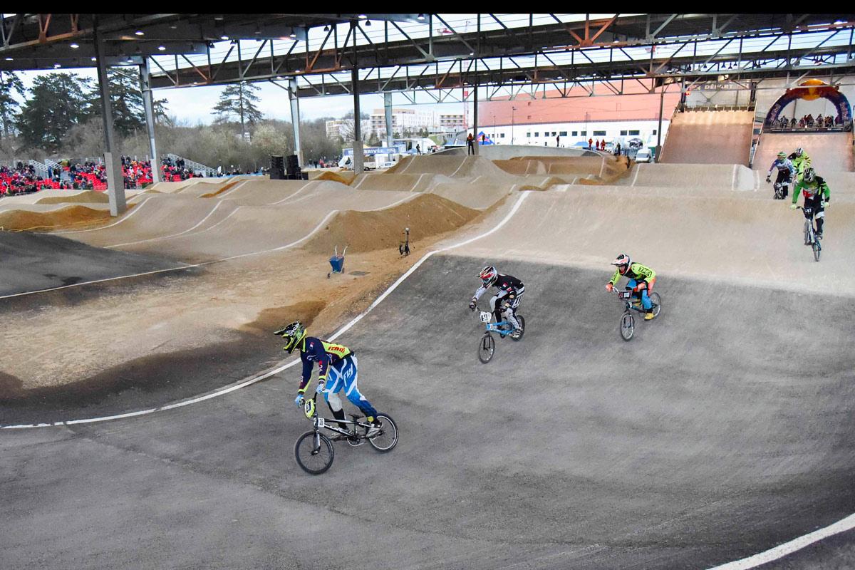 Piste de BMX du Vélodrome national de Saint-Quentin-en-Yvelines / © Vélodrome national de Saint-Quentin-en-Yvelines