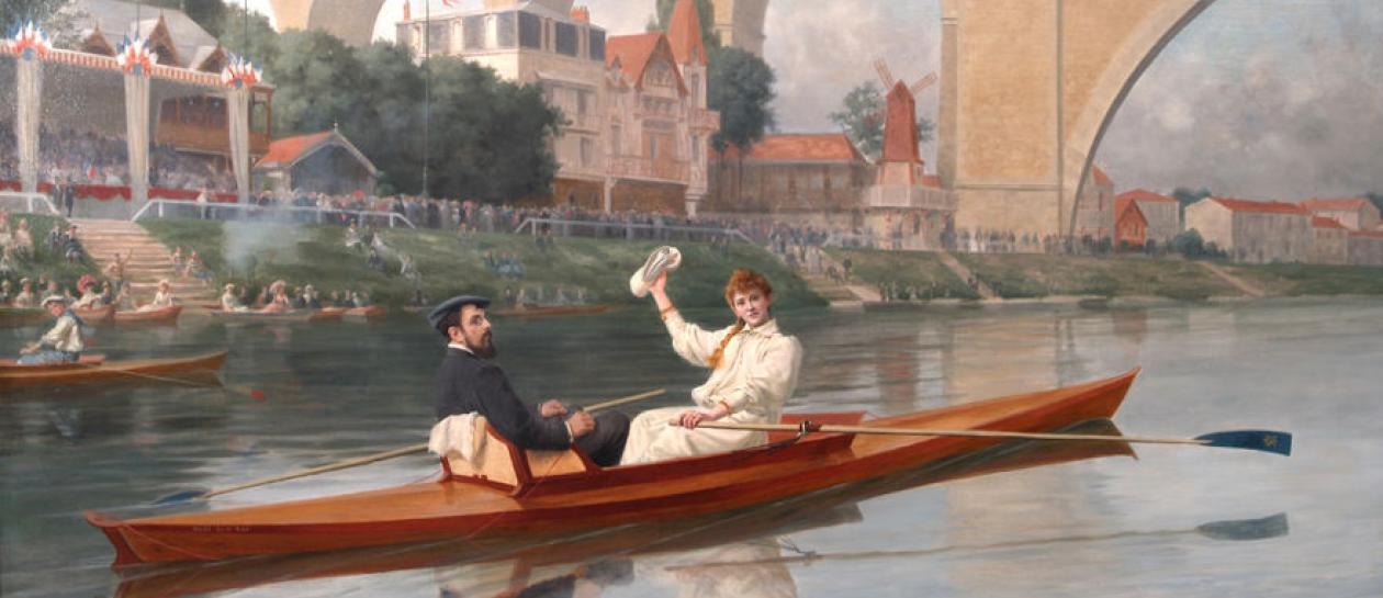 Peindre la banlieue, de Corot à Vlaminck 1850-1950, exposition à Rueil / DR