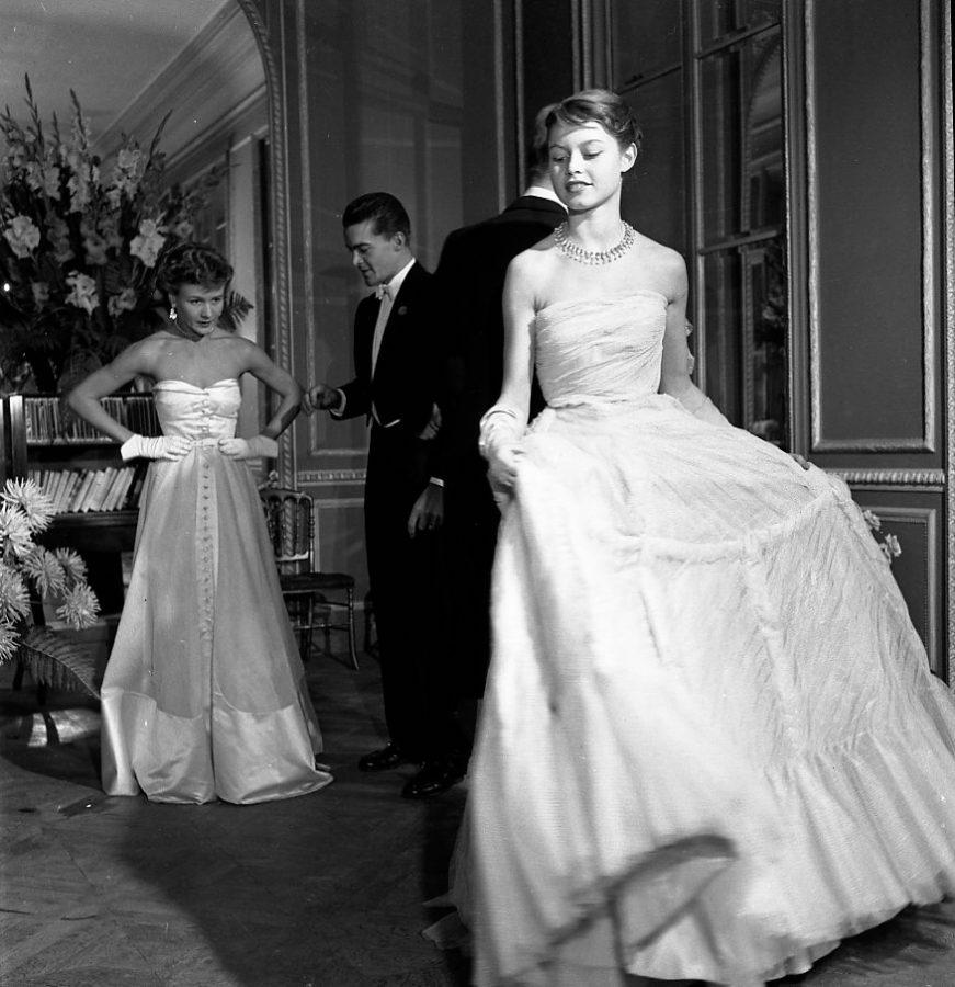 Robert Doisneau, Brigitte Bardot pour Vogue, 1950 / Copyright Atelier Robert Doisneau