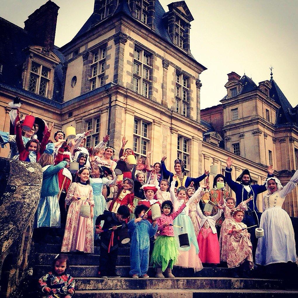 Carnaval du château de Fontainebleau / © Hadrien Demeure