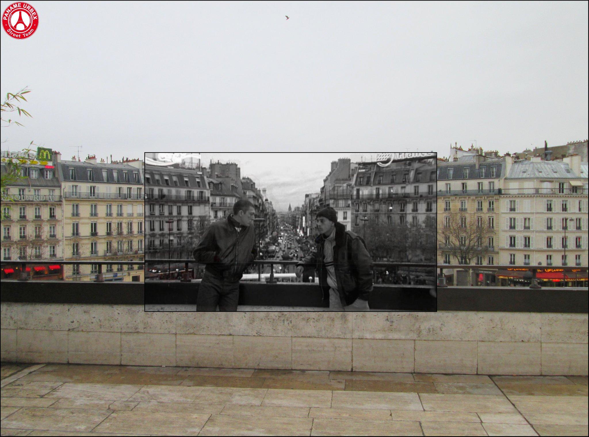 La Haine - Paris 14e / © Paname Urbex