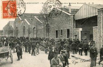 Boulogne au temps des usines Renault
