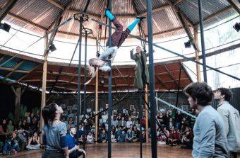 Le chapiteau Raj'ganawak, plus qu'un cirque