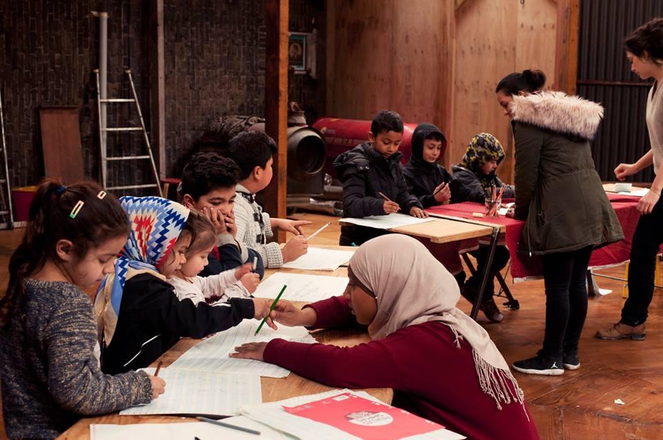 L'école du chapiteau © Albertine Guillaume