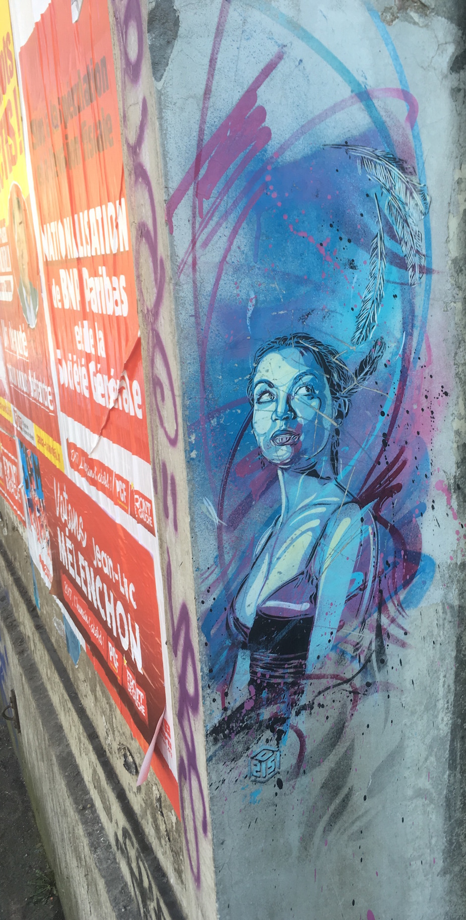 C215, 107 rue Paul Vaillant-Couturier, Vitry / © Julie Gourhant