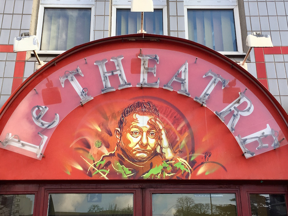 C215, bar le Théâtre, 39 avenue de l'Abbé Roger Derry, Vitry / © Julie Gourhant