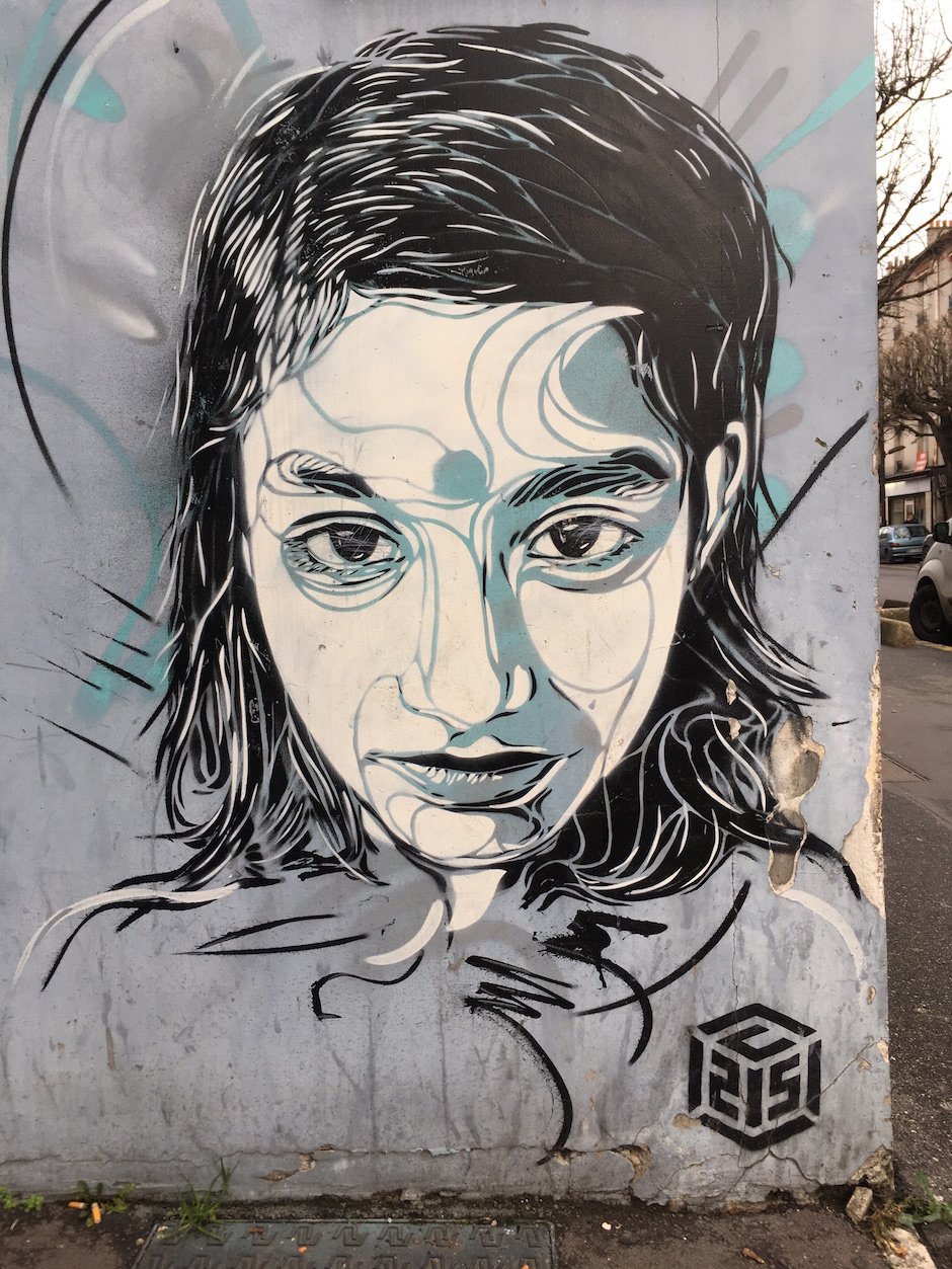 C215, 52 rue Lenine, Ivry / © Julie Gourhant
