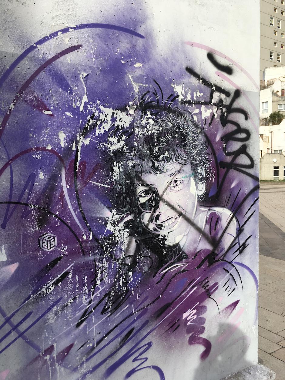 C215, 1-7 place Voltaire, Ivry / © Julie Gourhant