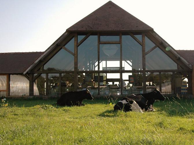 Boutique de la ferme de Viltain à Jouy-en-Josas (78) / © Sortir Yvelines