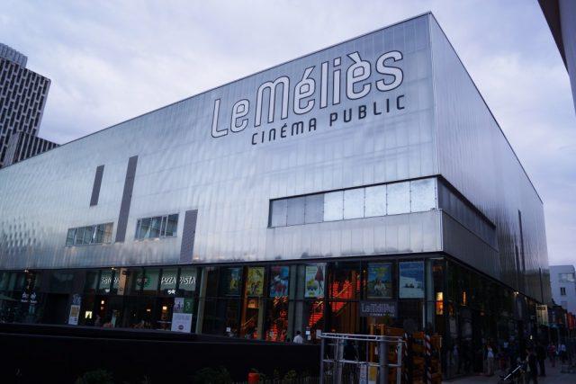 Le cinéma Méliès à Montreuil, l'une des sept salles Art & Essai qui participent au festival Repérages / © Cinéma Méliès