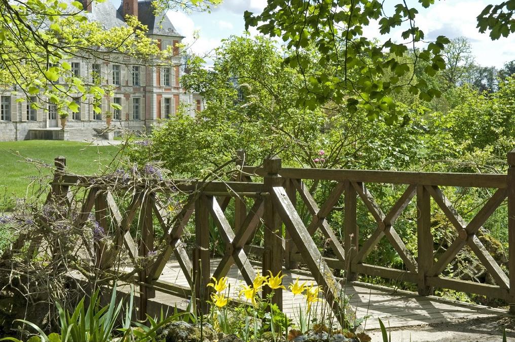 Le parc et le château de Courson © Jean-Pierre Delagarde