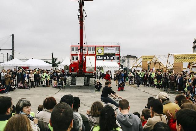 """""""Kilomètre 1"""" à Clamart en juin 2016 / © Société du Grand Paris"""