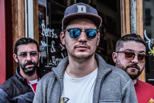 De gauche à droite : Luca Afroriot, Hugo et Amadeo 85 / © Jean-Fabien Leclanche