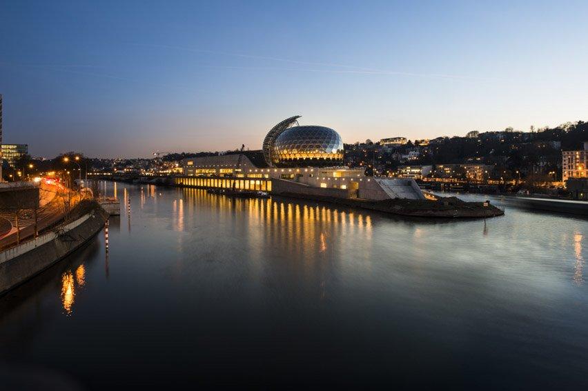 La Seine musicale sur l'île Seguin à Boulogne / © CG92