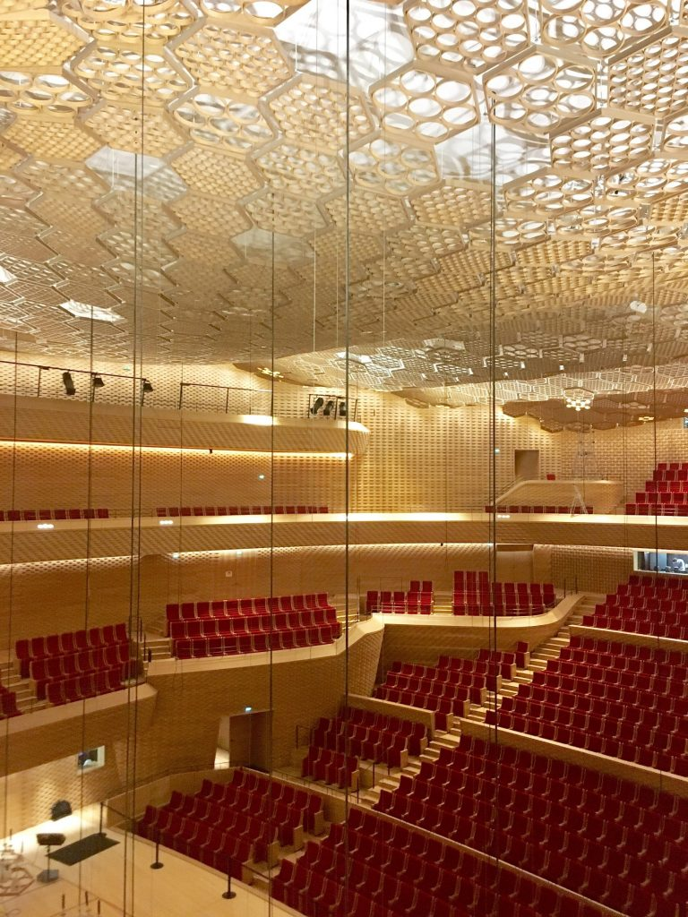 L'Auditorium de la Seine musicale sur l'île Seguin à Boulogne / © Julie Gourhant
