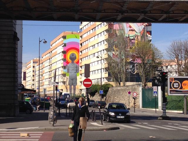 Street Art 13 le long du boulevard Auriol dans le 13e / © Steve Stillman