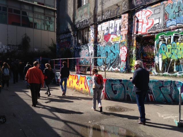 Balade avec Fresh Street Art Tour dans le 13e / © Steve Stillman