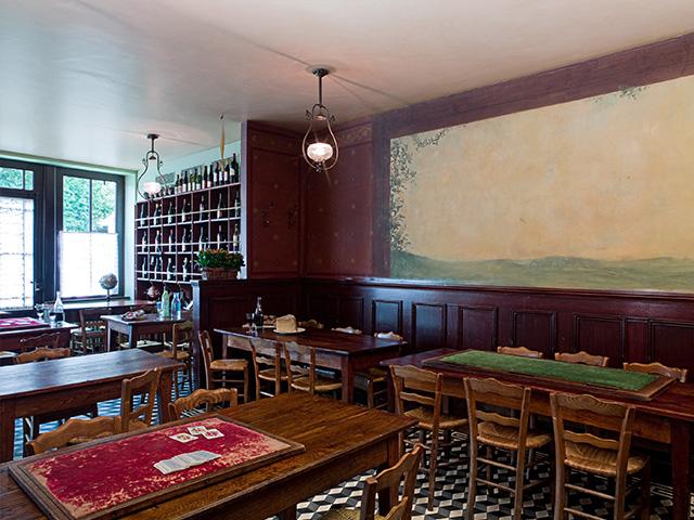 La salle de restaurant de l'Auberge Ravoux / © Maison Van Gogh