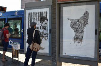 Quand l'art transforme les panneaux publicitaires en chevalets