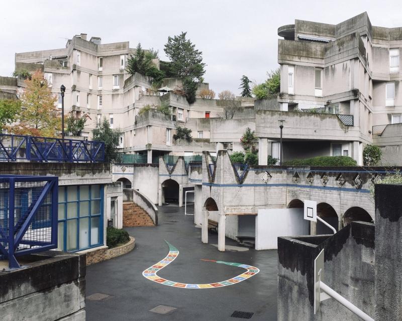 Ivry sur Seine - Etoiles de Renaudie et Gailhoustet - Ecole / © Jules Lefebvre