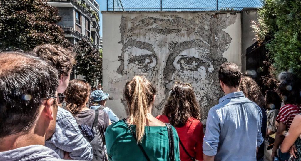 Sentier street art du Grand Paris / © Jean-Fabien Leclanche pour Enlarge your Paris