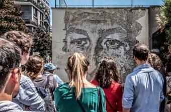 Ils ont marché sur le futur Sentier street art du Grand Paris