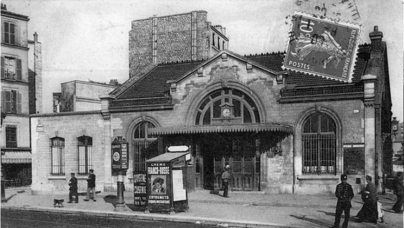 Gare de Saint-Ouen / DR