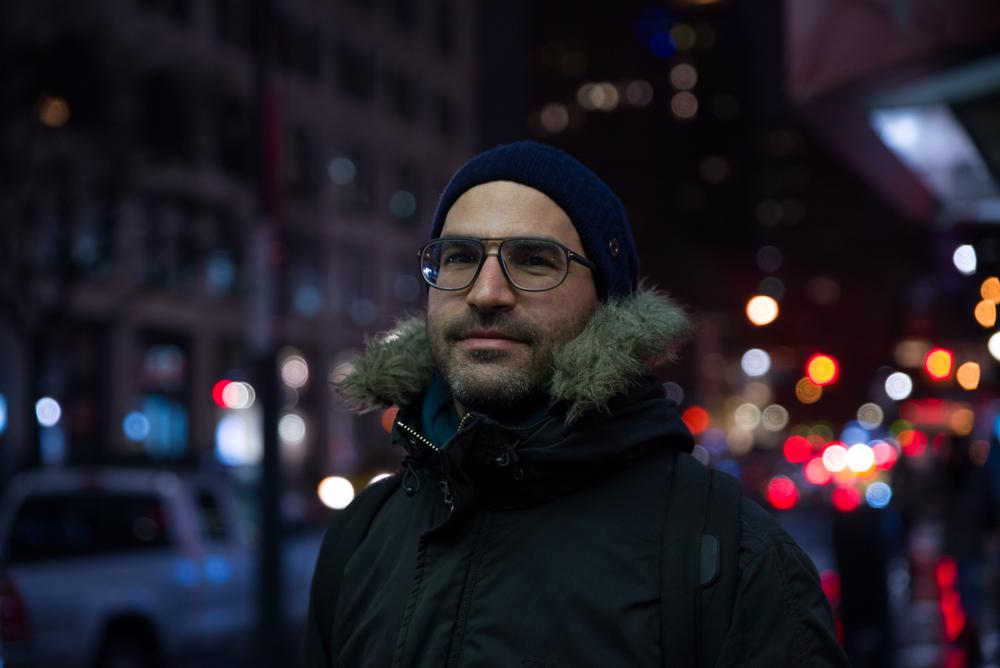 Le réalisateur Adnane Tragha / © David Jouary