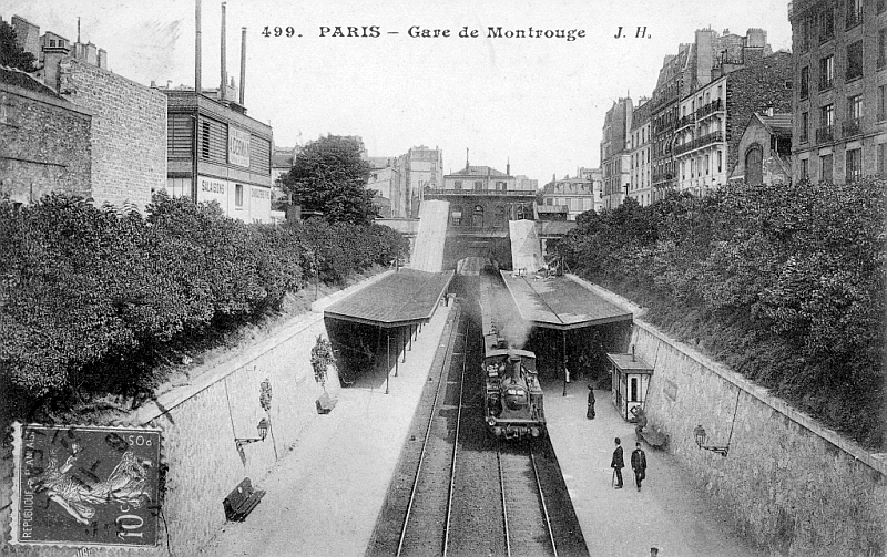 Gare de Montrouge / DR