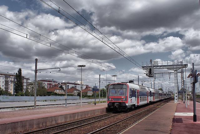 Le RER B à Massy-Palaiseau / © CpaKmoi  (Creative commons - Flickr)