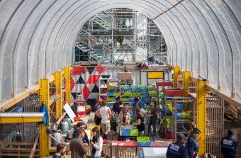 Une ville éphémère pour penser l'architecture durable