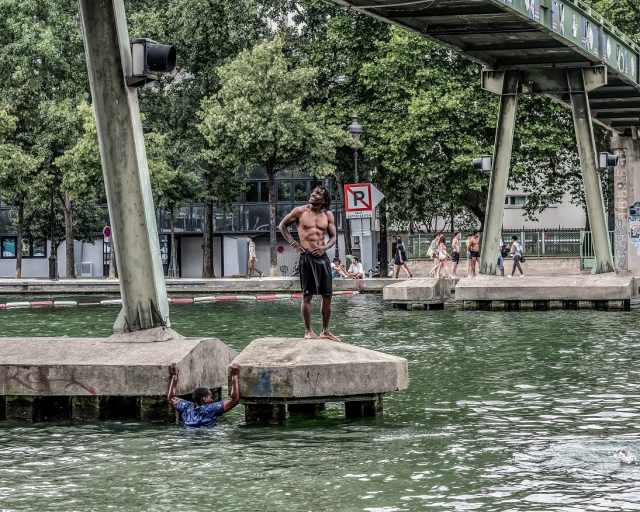 Bassin de la Villette / Jean Fabien Leclanche pour Enlarge Your Paris