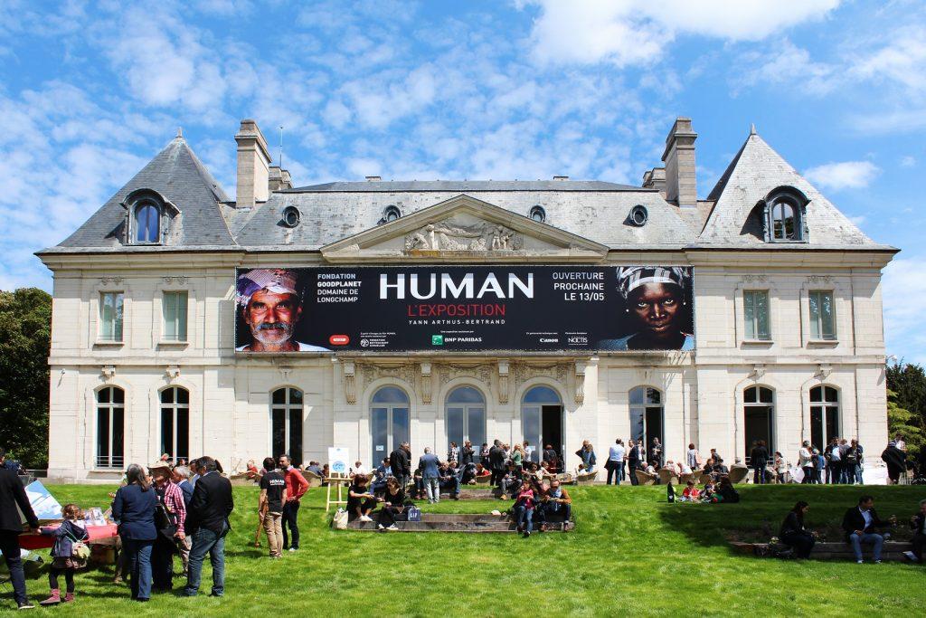 Le château de Longchamp, siège de la Fondation GoodPlanet /  © Adele Melice Dodart