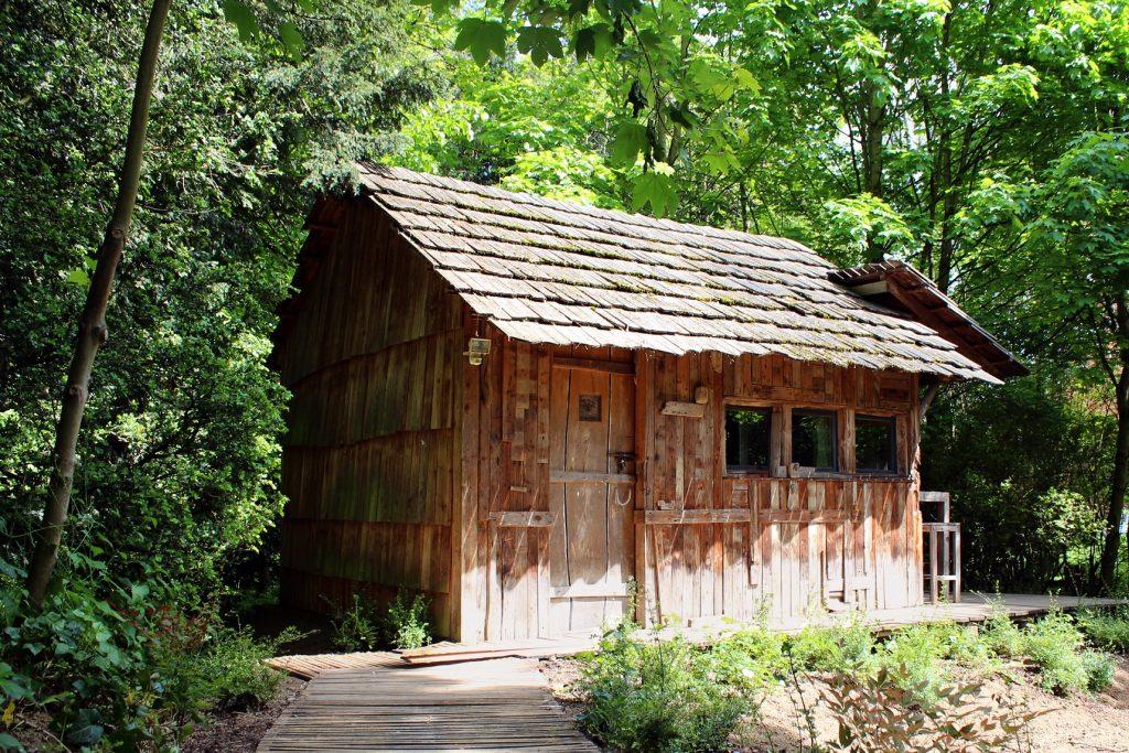 La cabane à graines de la Fondation GoodPlanet / © Adele Melice-Dodart