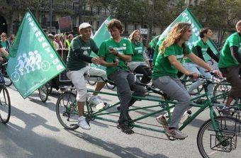 Un tour d'Île-de-France à vélo pour répandre les bonnes pratiques écolo