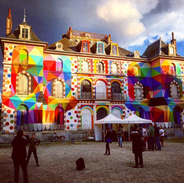 Le château de La Valette après / © Steve Stillman pour Enlarge your Paris
