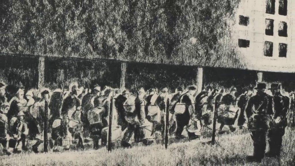 Plus de 120 000 juifs déportés © Georges Koiransky - Mémorial de la Shoah