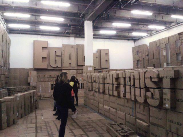Exposition chez Mains d'Oeuvres à Saint-Ouen / DR
