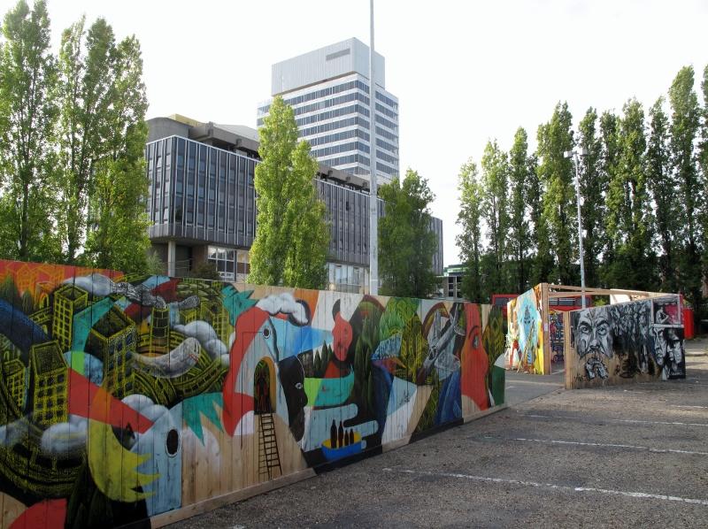 Street Art Park à Cergy-Pontoise / © Mona Prudhomme