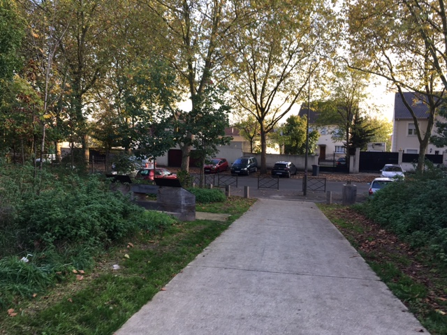 Sortie de la butte des Châtaigniers et boulevard Your Gagarine à Argenteuil / Steve Stillman pour Enlarge your Paris