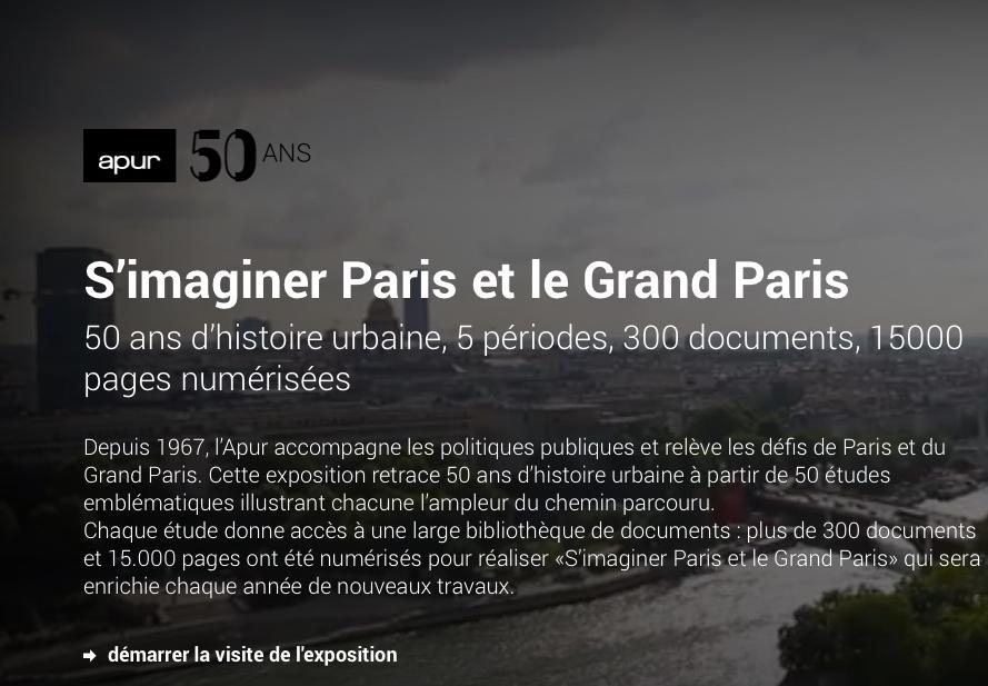 Expo Apur Grand Paris
