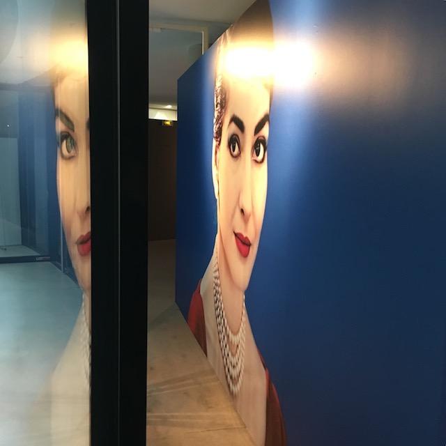 """Exposition """"Maria by Callas"""" à la Seine Musicale à Boulogne / © Julie Gourhant"""